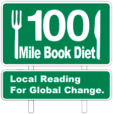 100 mile book diet sign