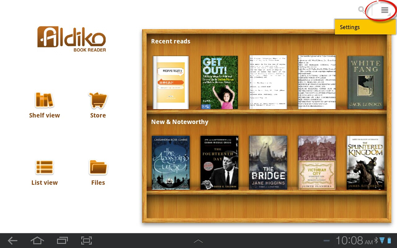 Getting the Library's PDF eBooks on your Android tablet