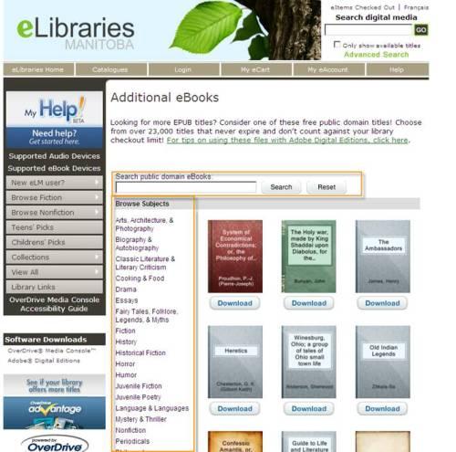 Public Domain eBooks