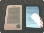 Kobo Vox vs original Kobo screens