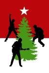 rocking christmas treee
