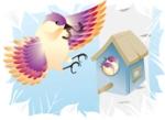 birdandbirdhouse