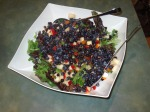 "Blueberry Salsa Salad: ""This is a perfect salad for a summer evening"""