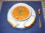 Elaine: Canellini bean and tomato soup
