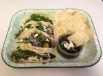 Shelley: Squash and Black Bean tacos