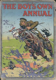 Cover of Boy's Own Annual 1914