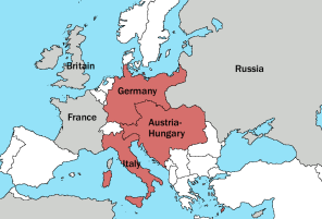 European borders pre World War I