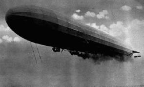 World War I German Zeppelin
