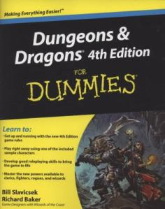 "Cover of ""Dungeons and Dragons 4th Edition for Dummies""."