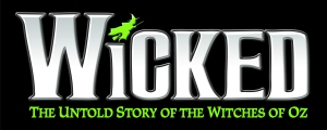 Wicked Horizontal Title treatment