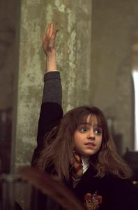 Hermione, as portrayed by Emma Watson.