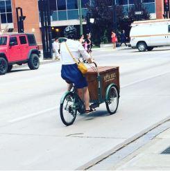 Book bike en route