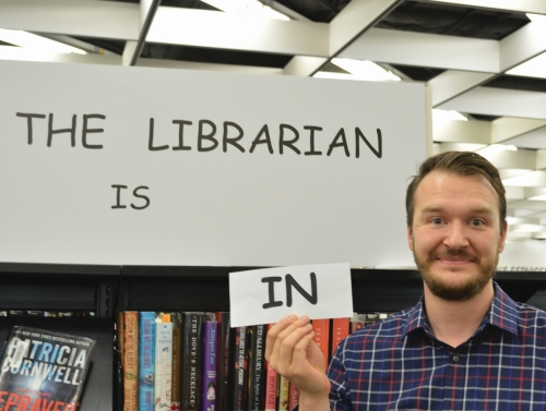 librarian is in
