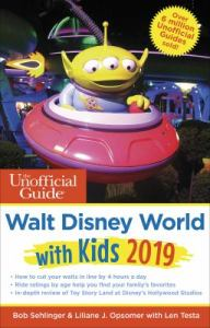 Unofficial Guide to Walt Disney World with Kids 2019 book cover image