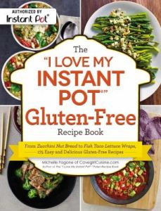 I Love my Instant Pot Gluten Free Recipe Book Cover Image