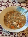 Sherri turkey soup