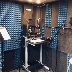 ideaMILL sound booth