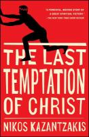 Book cover of The Last Temptation of Christ