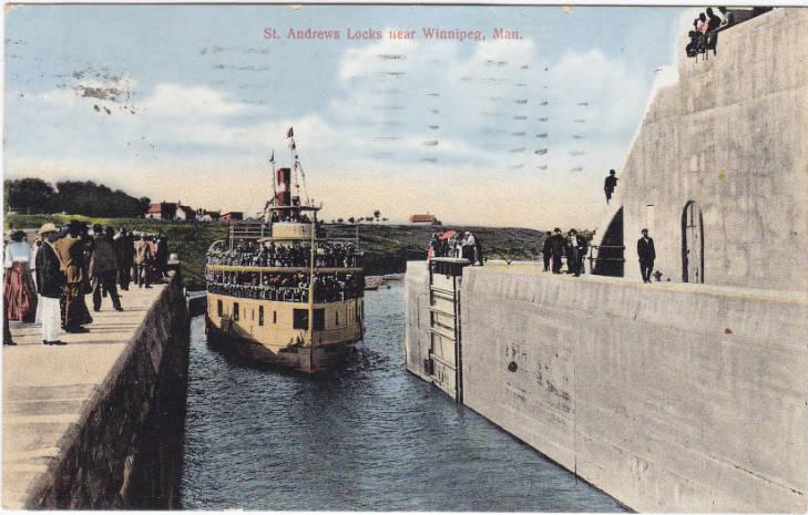 St. Andrews Locks , 1912